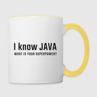 So JAVA - Tazze bicolor