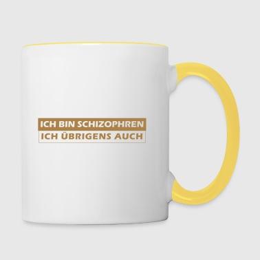 suchbegriff 39 schizophren 39 tassen zubeh r online bestellen spreadshirt. Black Bedroom Furniture Sets. Home Design Ideas
