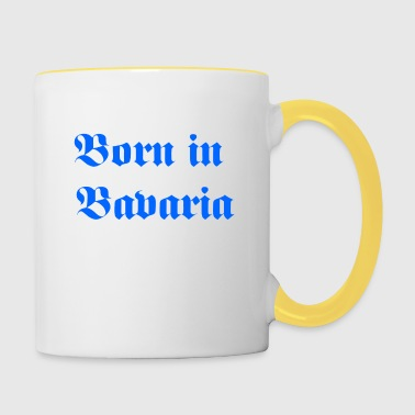 Born in Bavaria - Contrasting Mug
