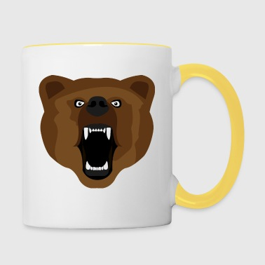 Ours / Ours / Медвед / agressif - Mug contrasté