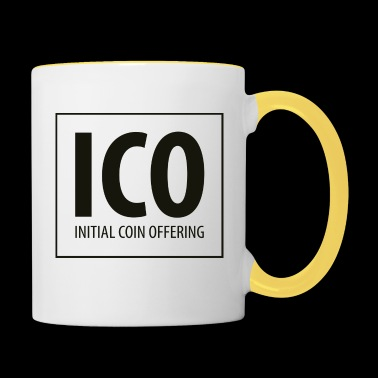 ICO - Initial Coin Offering - Contrasting Mug