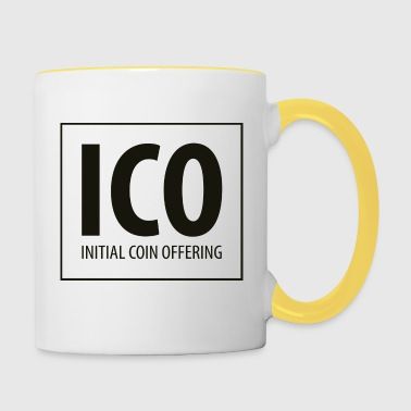 ICO - Initial Coin Offering - Tazze bicolor