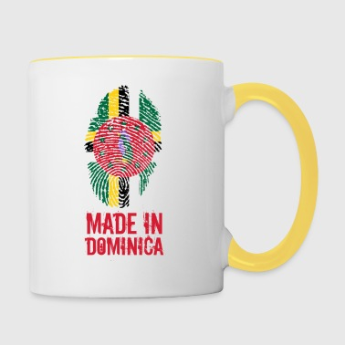 Made In Dominica Caraïbes - Mug contrasté