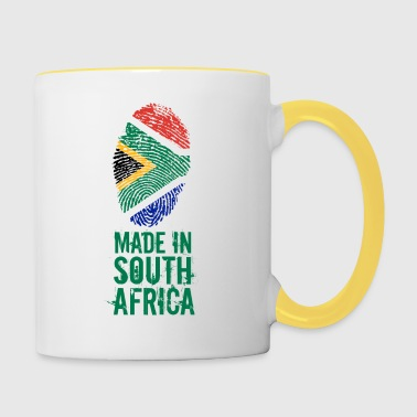 Made In South Africa / Südafrika - Tasse zweifarbig
