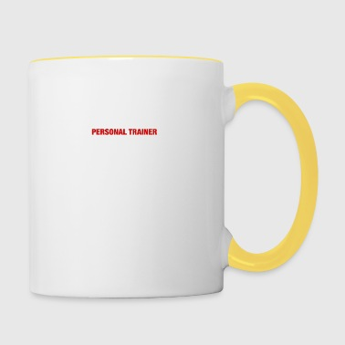 Have No Fear The Personal Trainer Is Here - Contrasting Mug
