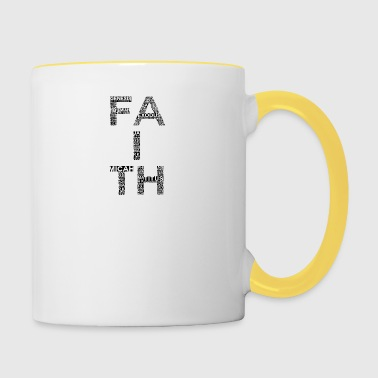 Faith - Faith - Tofarvet krus