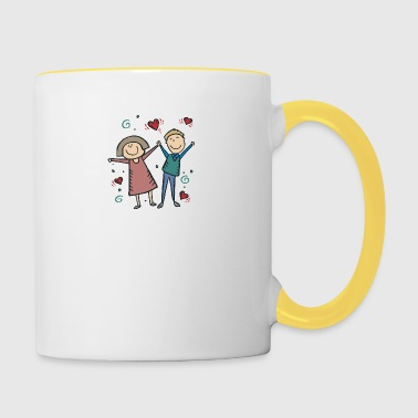 We Are Engaged - Contrasting Mug