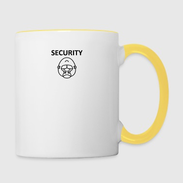 Shirt Security Gorila - Tasse zweifarbig