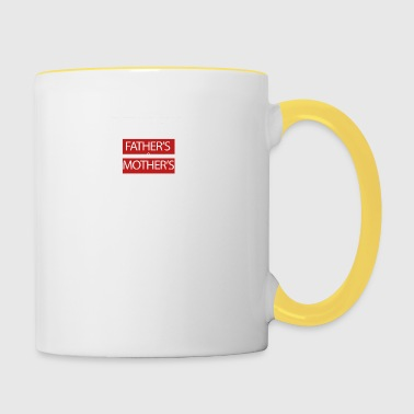 Mothers day-mothersday-fathers-day - Contrasting Mug