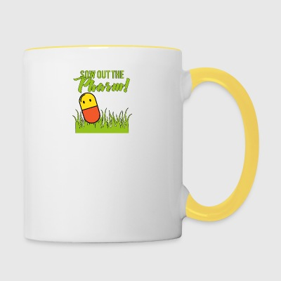 Pharmacy / Pharmacist: Sow Out The Pharm! - Contrasting Mug