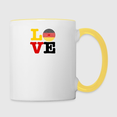 GERMANY HEART - Contrasting Mug