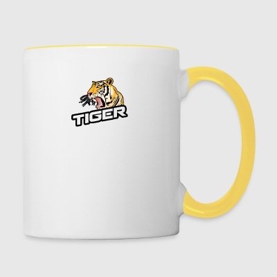 Tiger asiatique - Tasse bicolore