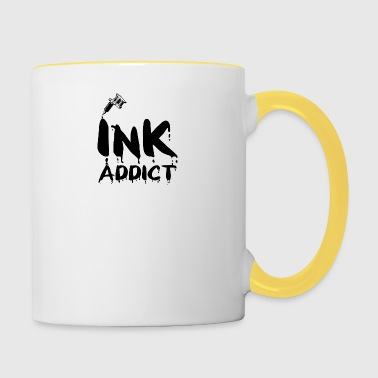 Tatouage / Tattoo: Ink Addict - Tasse bicolore