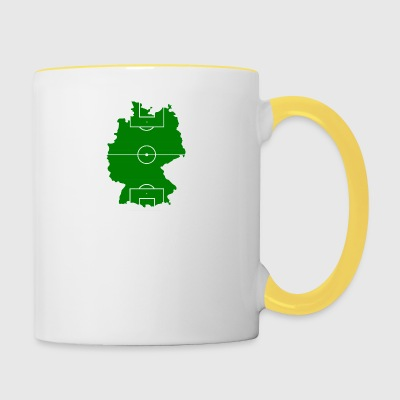 Football Allemagne - Tasse bicolore