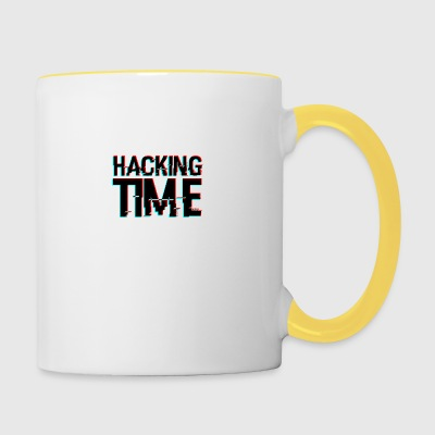 HACKING TIME HACKER - Tazze bicolor