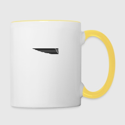 Eagle Wing long - Tasse bicolore