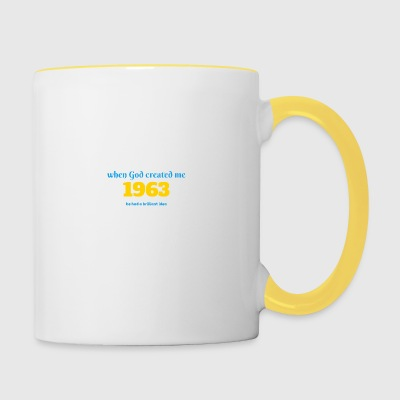 God idea 1963 - Tasse zweifarbig