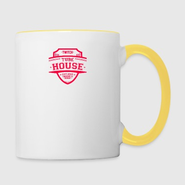 TubeHouse Team College Merch 2017 Pink - Contrasting Mug