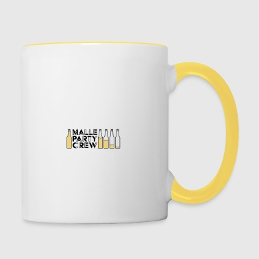 Malle Party Creqw - Contrasting Mug