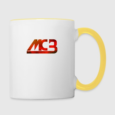 MCB barboteuse - Tasse bicolore