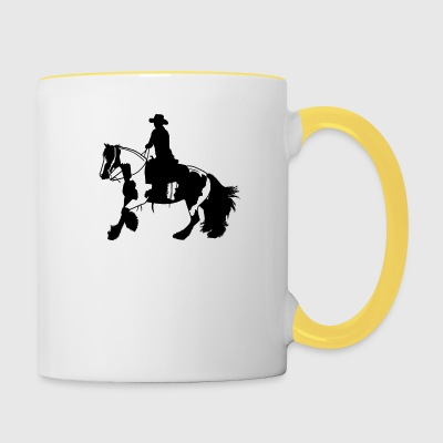 Tinker galop - Tasse bicolore