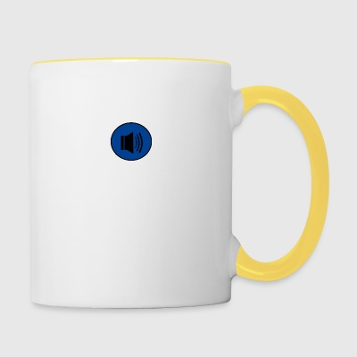Audio button design - Contrasting Mug