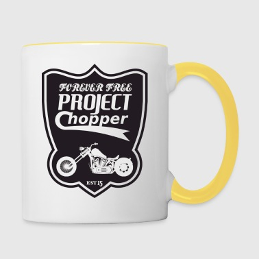 project chopper - Taza en dos colores