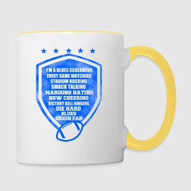 I am a blues screaming - Contrasting Mug