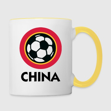 Football Crest of China - Mug contrasté