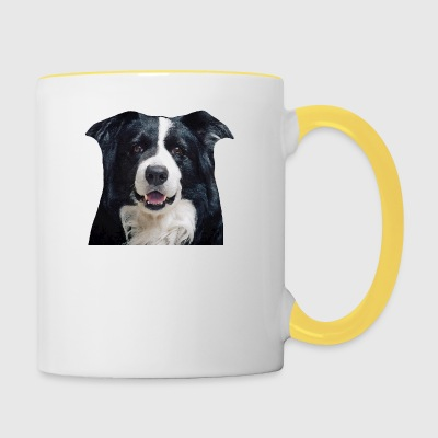 Border Collie - Contrasting Mug