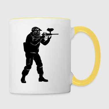paintball - Contrasting Mug