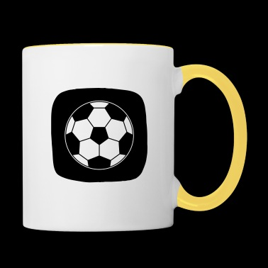 Icon Football Ball Sport Ball Sports - Contrasting Mug