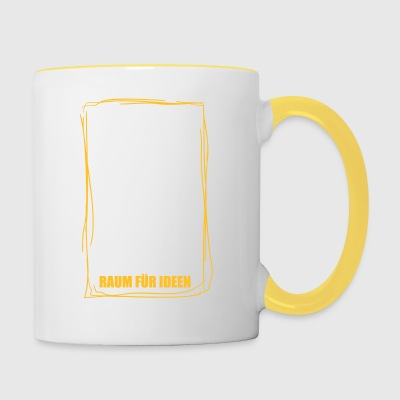 Space for Ideas 1 - Contrasting Mug