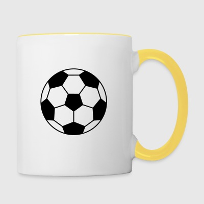 sports Football - Tasse bicolore