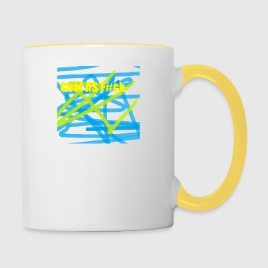 COOL AS Fck - Mug contrasté