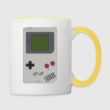 Game Boy Batteries not included! - Tasse zweifarbig