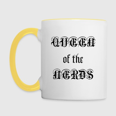 Queen of the Nerds - Contrasting Mug