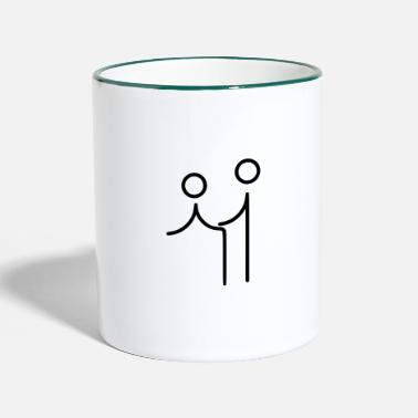 Sex, funny - Two-Tone Mug