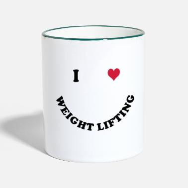 Weights weights - Two-Tone Mug
