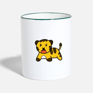 Little tiger - Two-Tone Mug