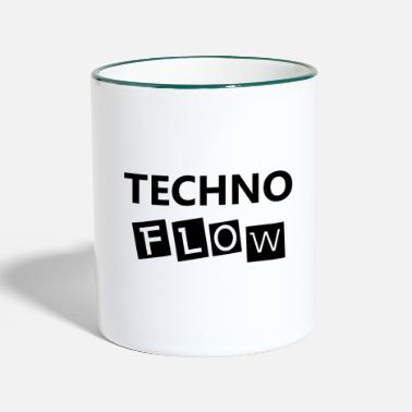 Flow Techno Flow - Tazza bicolor