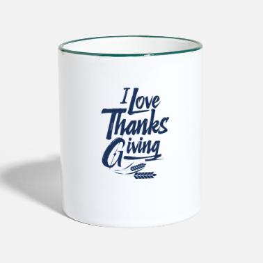 Thanksgiving Thanksgiving Thanksgiving Thanksgiving - Two-Tone Mug