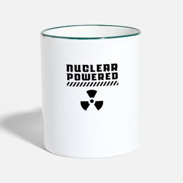 Nuclear Energy nuclear power atomic energy nuclear power nuclear energy - Two-Tone Mug
