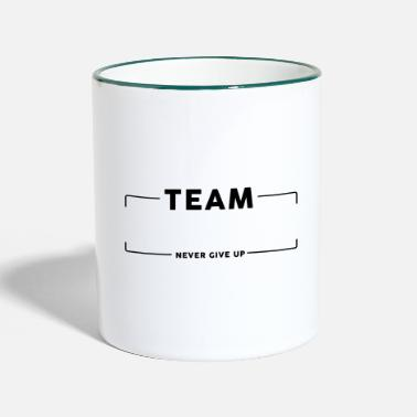 Team Team Team Group - Two-Tone Mug