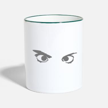 Eye eye eyes - Two-Tone Mug