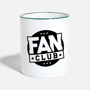 Fan Club fan club - Two-Tone Mug