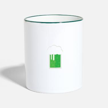 Green Beer Will Drink Green Beer - Two-Tone Mug