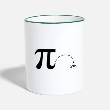 Pi Math Pi Day Pi Pi - Mug bicolore