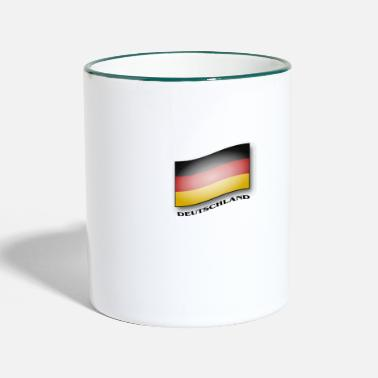 Flag Of Germany Germany flag - Germany flag - Two-Tone Mug