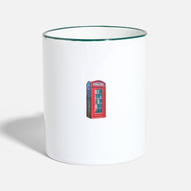 Booth phone booth - Two-Tone Mug